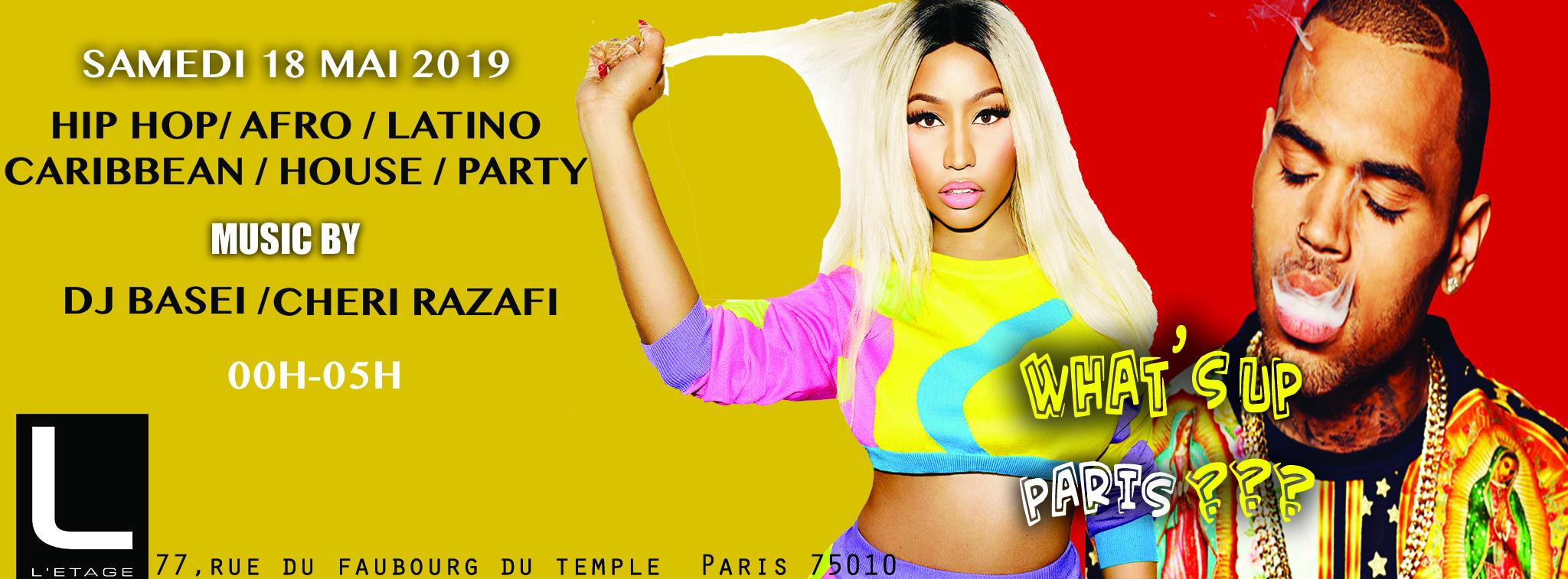 WHAT'S UP PARIS PARTY#7