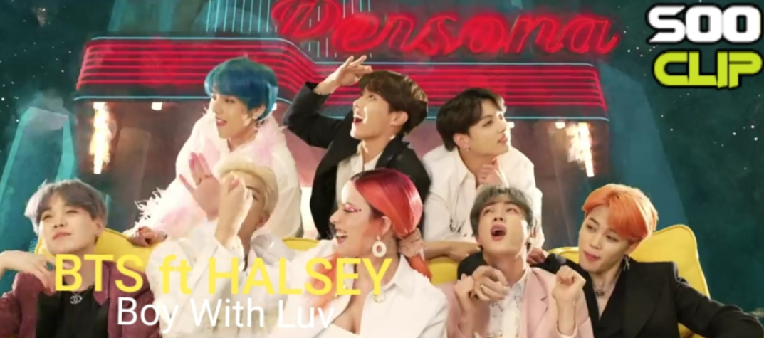 [SOO CLIP] »Boy With Luv » de BTS feat Halsey.