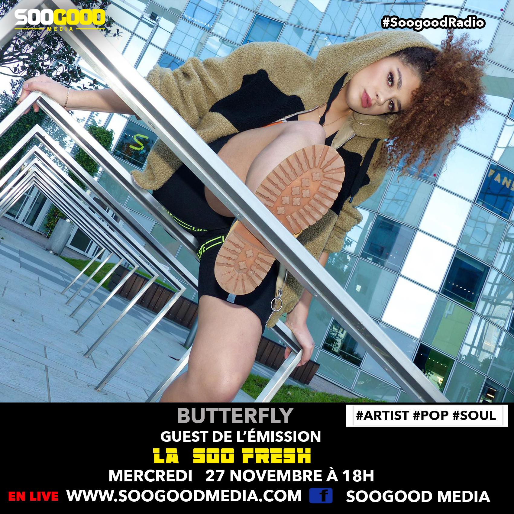 La Soofresh Butterfly
